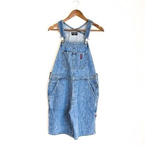 Vintage POLO Jeans Co. OVERALL Shorts